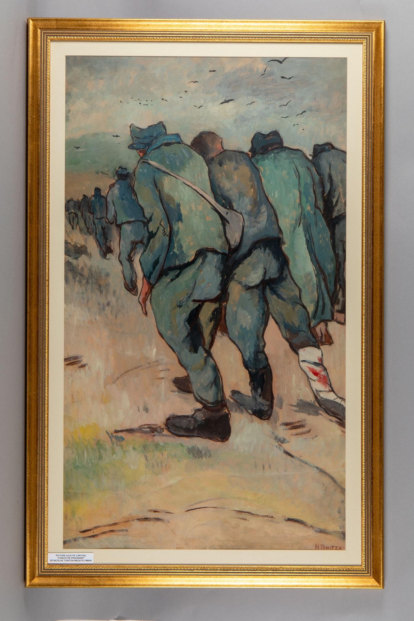 """""""Convoiul prizonierilor"""", Nicolae Tonitza"""