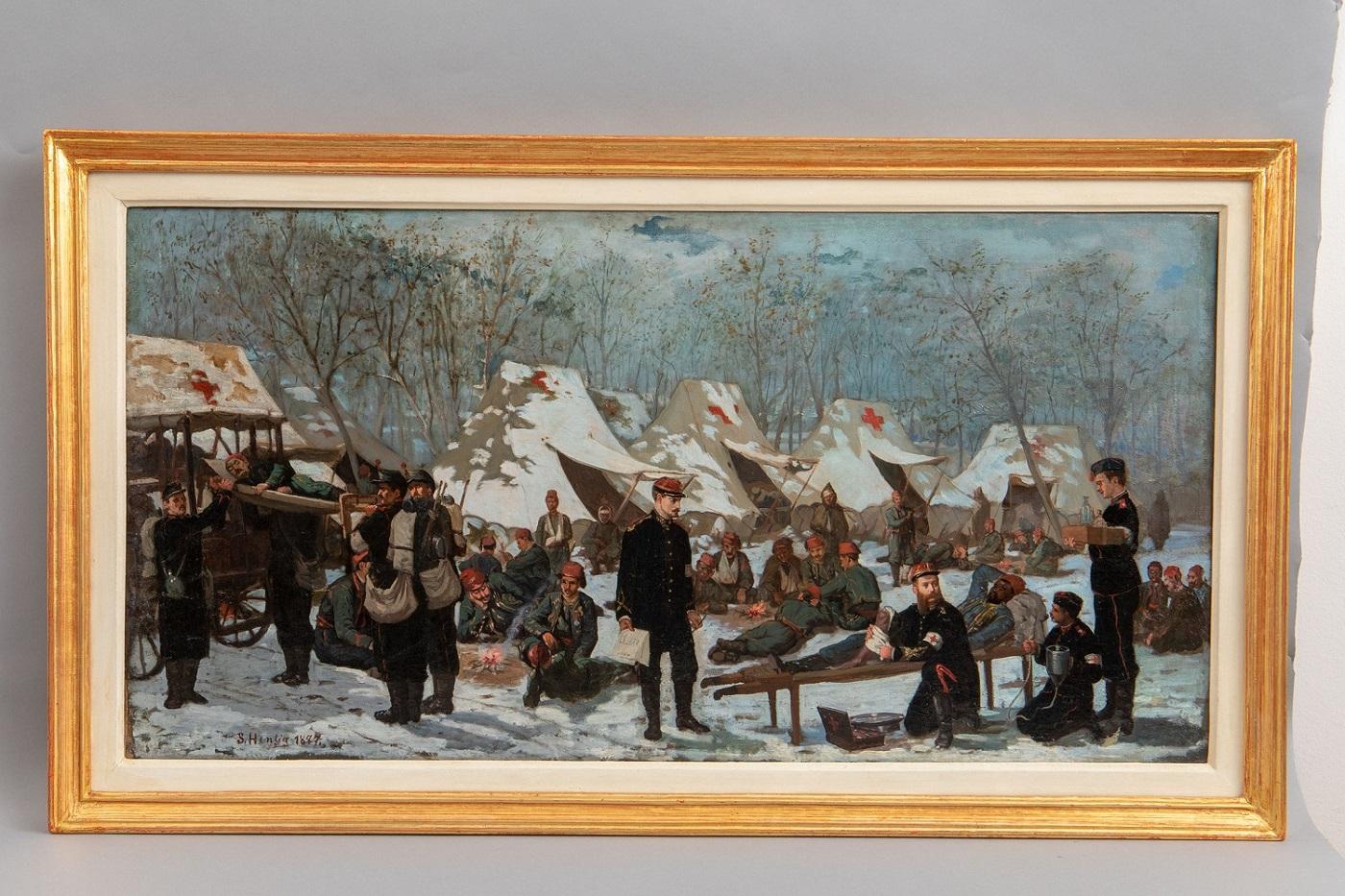 """""""Ambulanța română"""",Sava Henţia ,1877"""