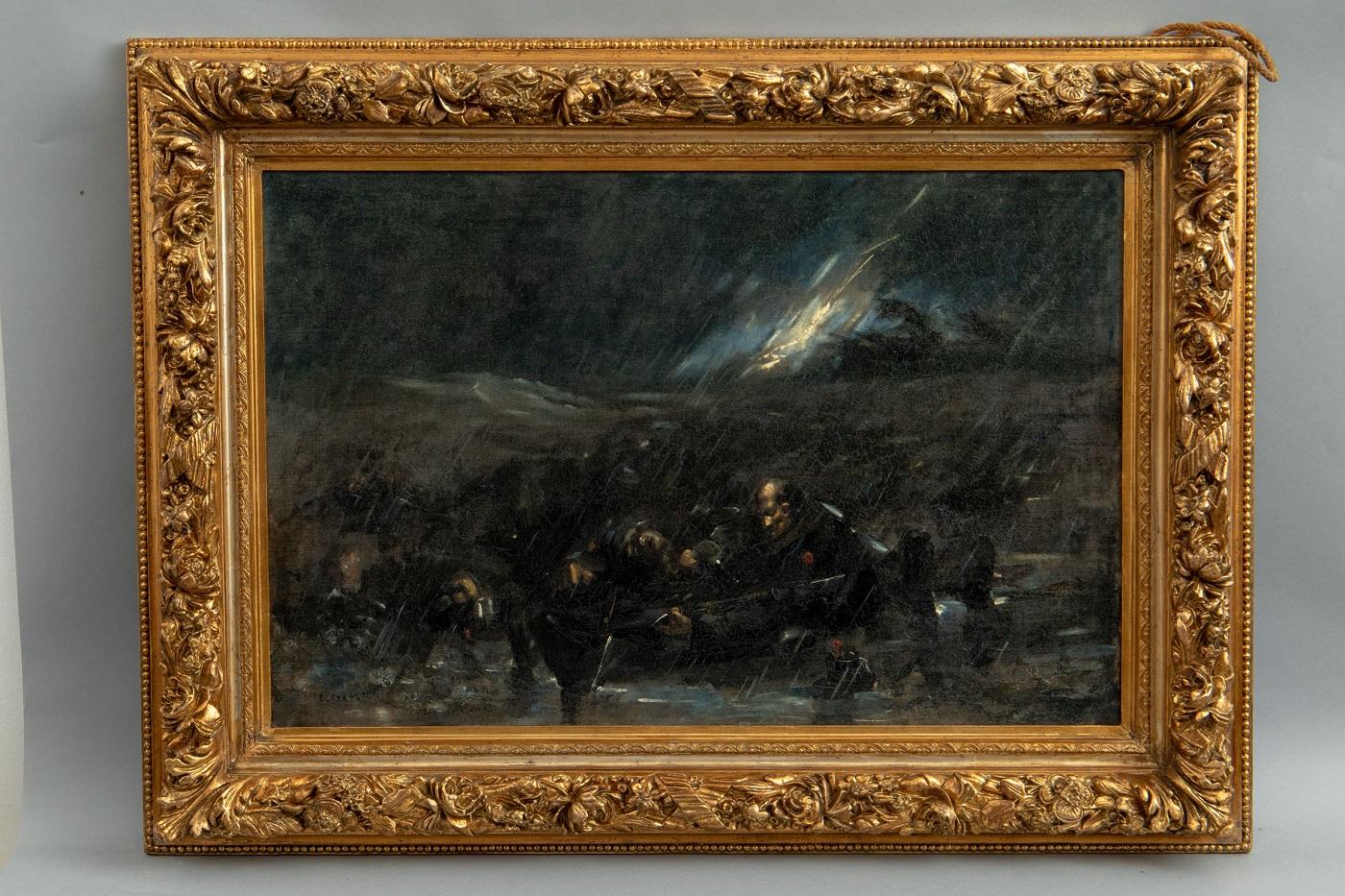 """""""Atacul  de noapte"""",Emilian Lăzărescu"""