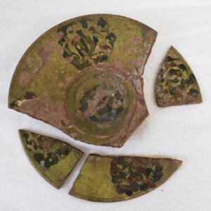 Imagine de ansamblu înainte de începerea procesului de restaurare-conservare.