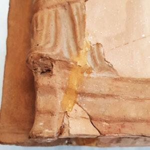 Imagine detaliu completări fragile.