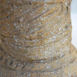 Fotografie de detaliu cu stropii soluției de ignifugare.