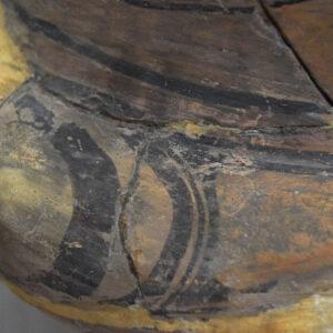 Imagine de detaliu înainte de restaurare.