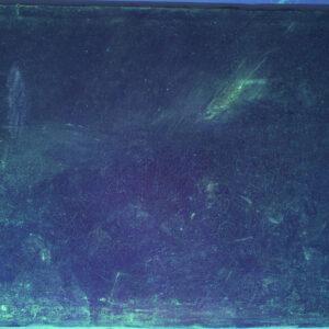 Fluorescență UV, înainte de restaurare.